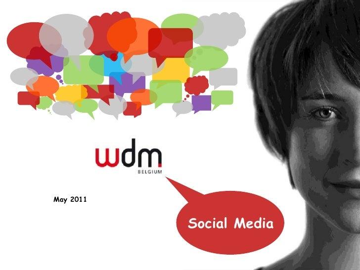 Social Media in Belgium and Social CRM
