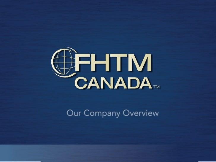 FHTM Presentation