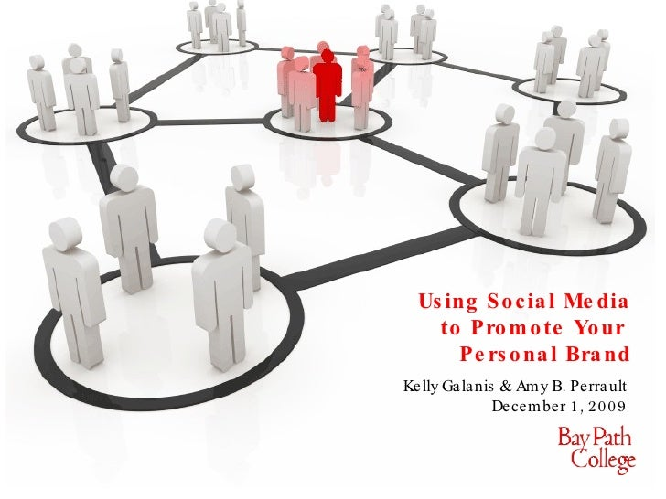 Using Social Media to Promote Your  Personal Brand Kelly Galanis & Amy B. Perrault  December 1, 2009