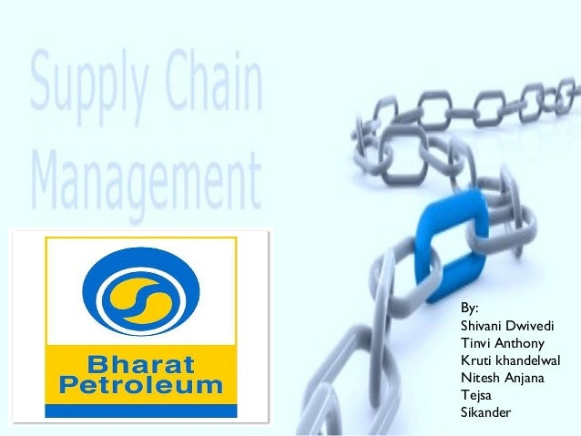 Supply chain of BPCL