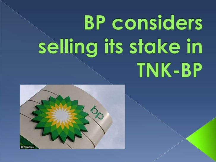 MOSCOW – British oil giant BP said Friday it is consideringselling its 50 percent stake in its Russian joint venture TNK-B...