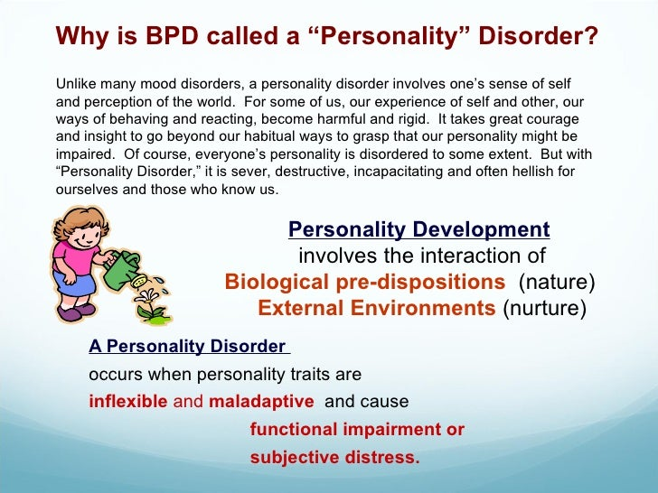 a study of borderline personality disorder