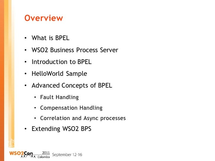introduction and advanced concepts of bpel advanced concepts business