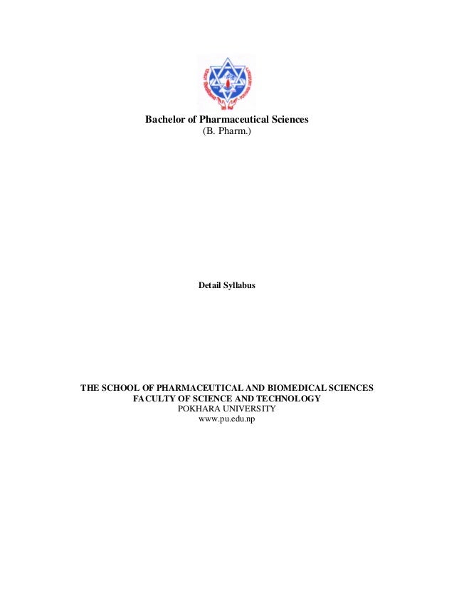 B pharm detail syllabus1