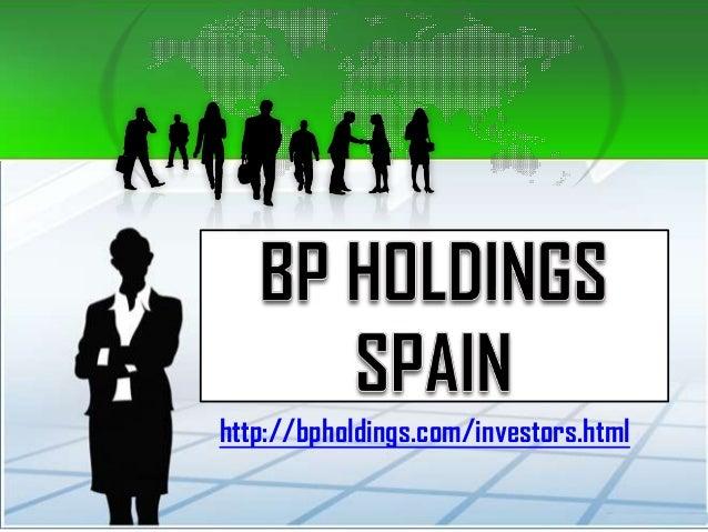 http://bpholdings.com/investors.html