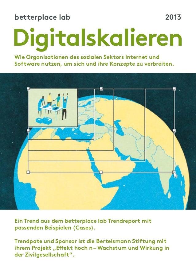 Aus dem Trendreport: Digitalskalieren – Wie soziale Organisationen mit digitalen Tools wachsen