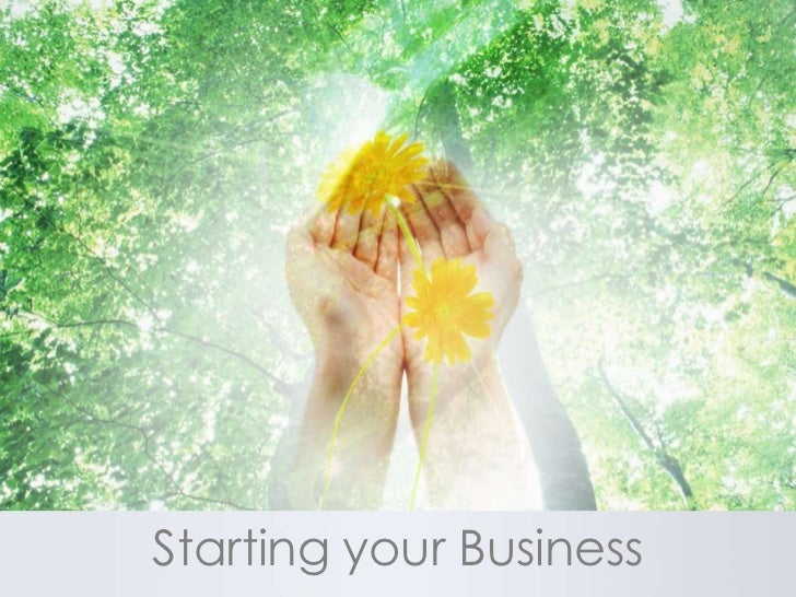 Starting your Business<br />