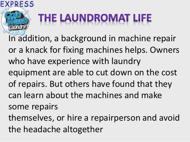 Business plan for laundromat
