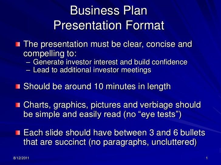 plan ppt format