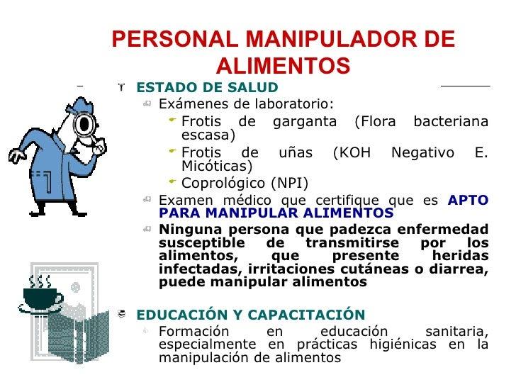 Examen para el manipulador de alimentos examen para el manipulador de alimentos bpm - Preguntas examen manipulador de alimentos ...