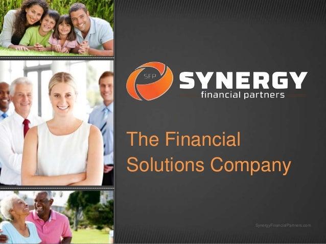 The Financial Solutions Company  SynergyFinancialPartners.com
