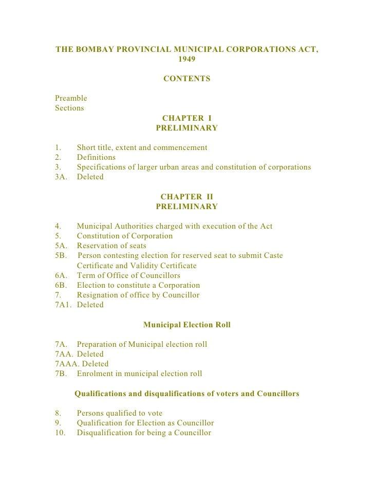 BPMC Act,1949