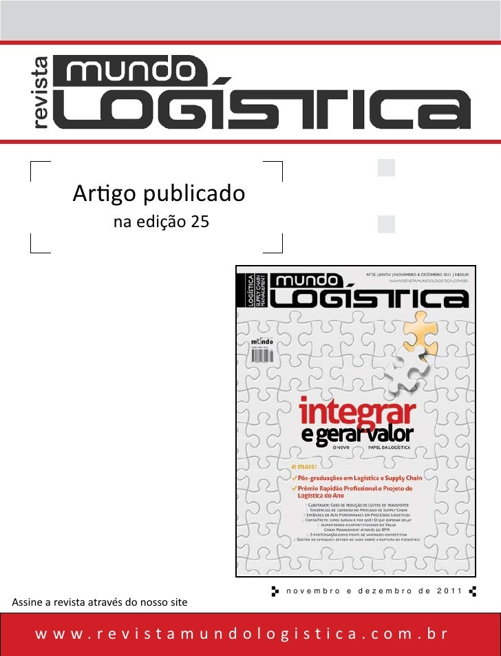 How BPM can increase competitivenes of Value Chain Management (in Portuguese)