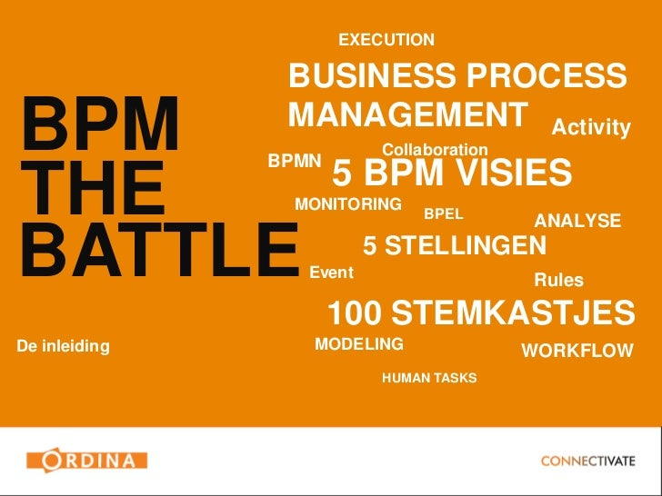 Bpm the battle 6 juni visie presentaties