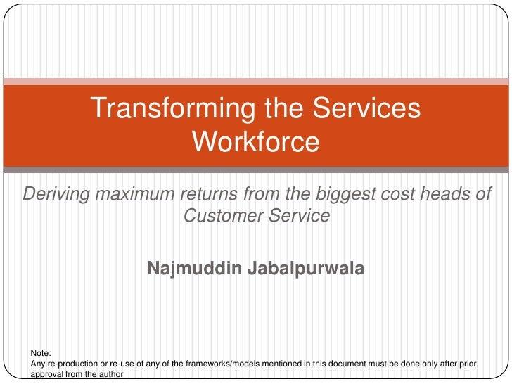 Workforce Productivity in BPO
