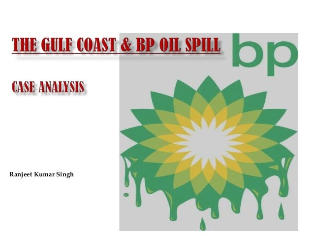 bp oil spill crisis management case study