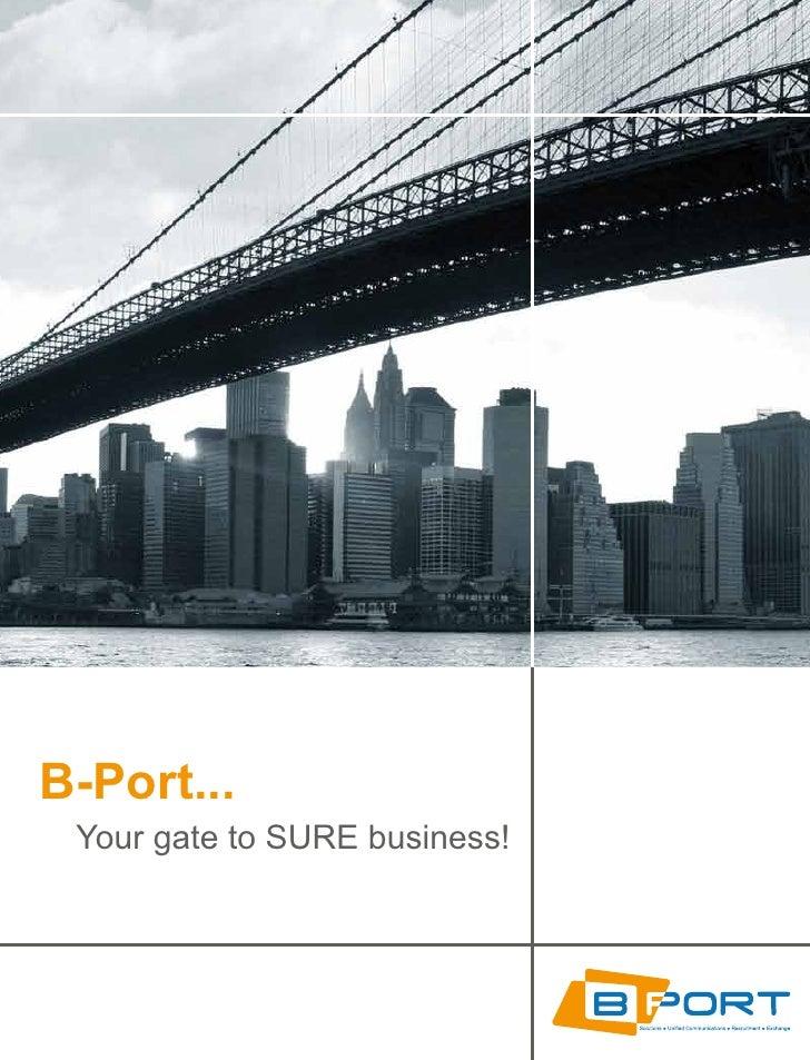 B-Port - Company Brochure