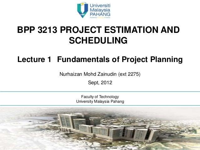 Bpp 3213 lecture 1