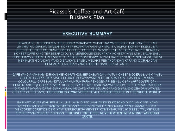 Business Plan - Picasso's Coffee and Art Cafe