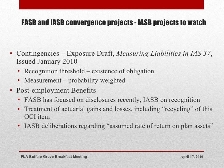 iasb vs fasb Lease accounting adopting the new fasb lease accounting standard (asc 842) the iasb's approach presents virtually all leases in a manner similar to today's financing leases the boards are more closely aligned on the lessor accounting.