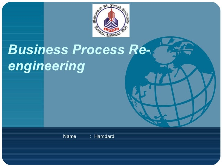 BPR OR Business Process Re-engineering