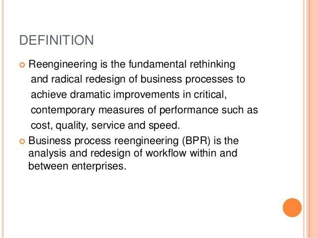 business reengineering case study cigna