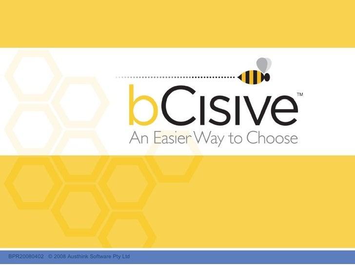 bCisive Slide Show