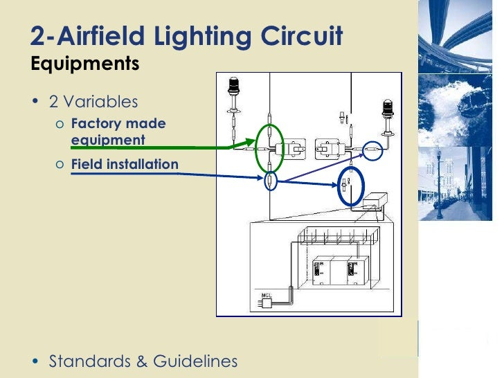 Electrical Component At Airport For Airfield Lighting Circuit