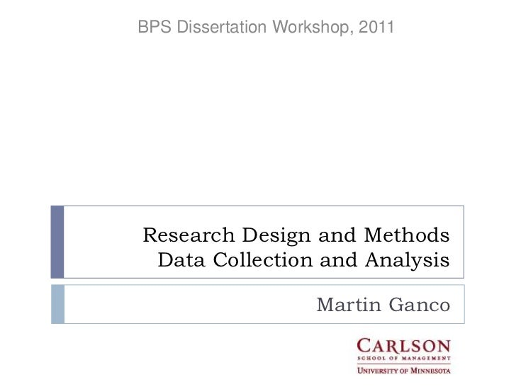thesis overview section