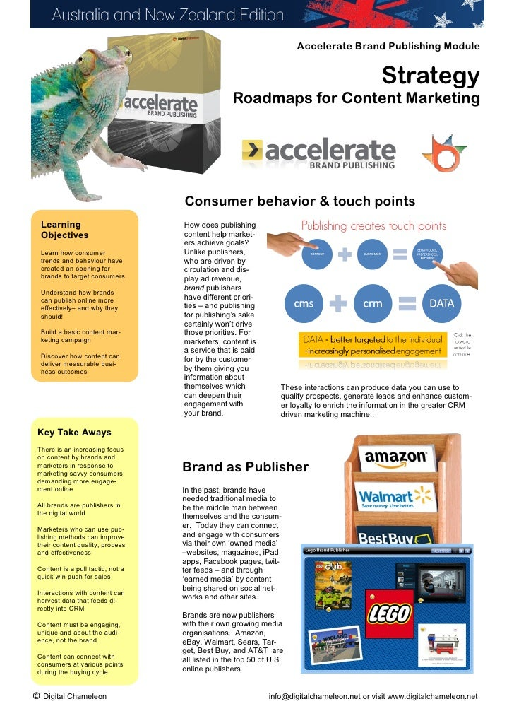 Accelerate Brand Publishing Strategy Guide 2012