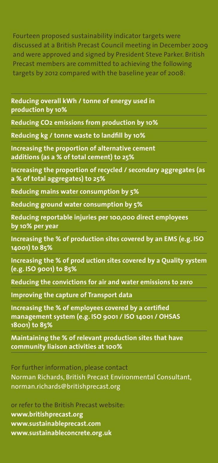 Sustainability Matters - Ecobuild update 2010