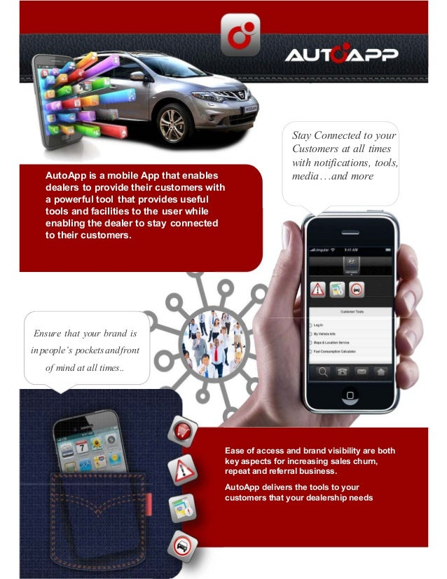 Auto app - the iPhone and Android App for any motor dealership in SA