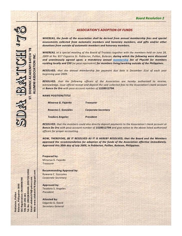 BoardResolution2                                                                                        ASSOCIATION'SAD...