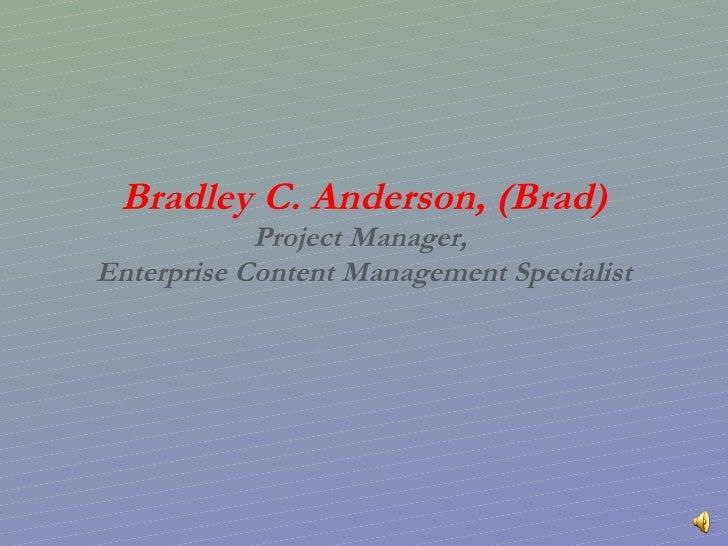 Brad Anderson Powerpoint2 17 09 B