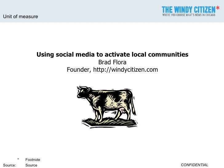 Using Social Media to Activate Local Communities