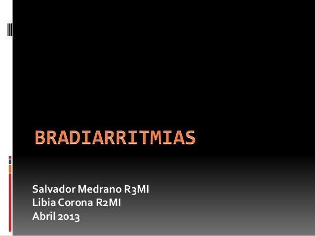 Bradiarritmias