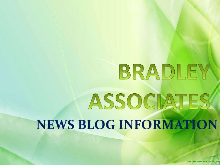 Digitale Bill of Rights ombord, Bradley Associates godkjent