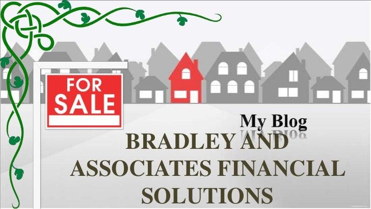 BRADLEY ANDASSOCIATES FINANCIAL     SOLUTIONS