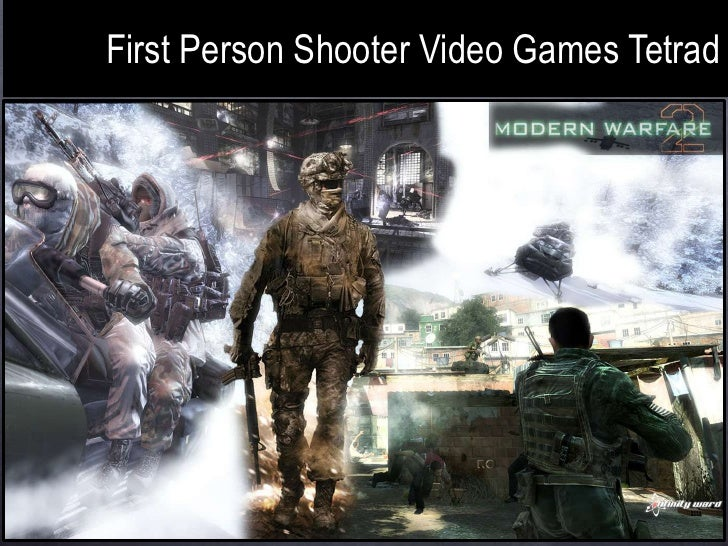 First Person Shooter Video Games Tetrad<br />