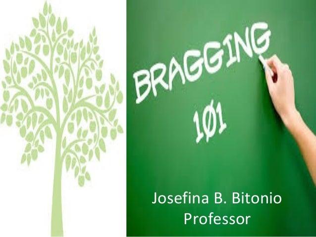 Josefina B. Bitonio Professor