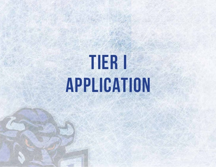 Tier IApplication
