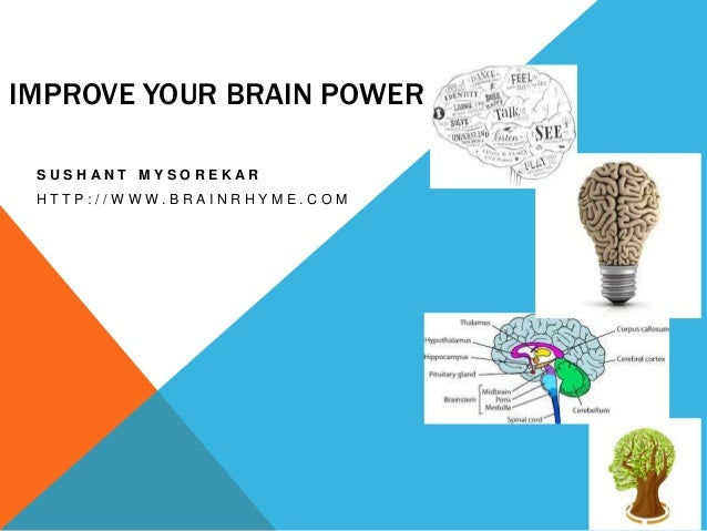 Food that can improve brain power
