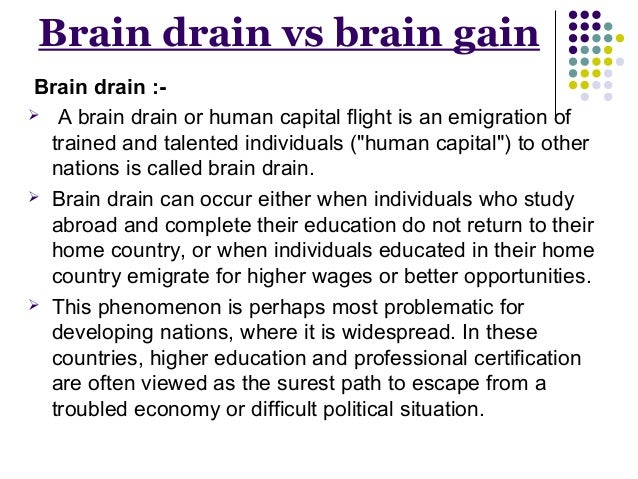 reverse brain drain in india essay