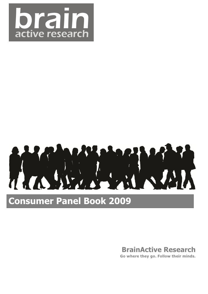 BrainActive Consumers Panel Book