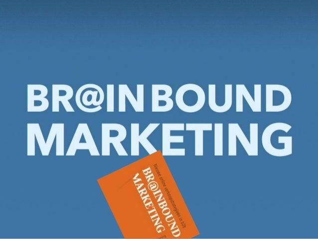 Brainbound Marketing, boek overview