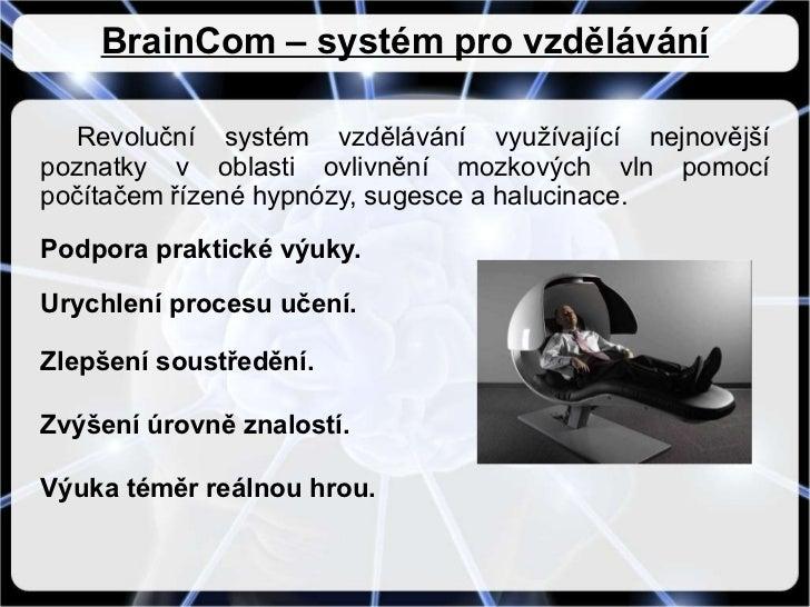 Brain com prezentace