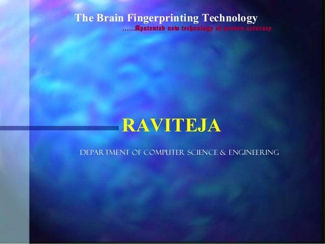 Brain fingerprinting tech