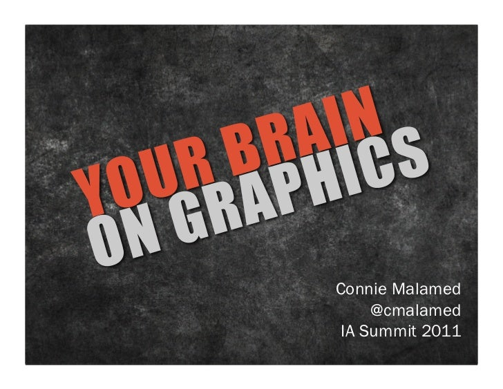 Your Brain On Graphics: IA Summit 2011 (can download)