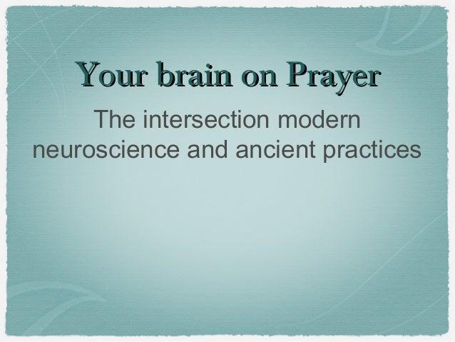 Your Brain on prayer 4 week course: Week  1