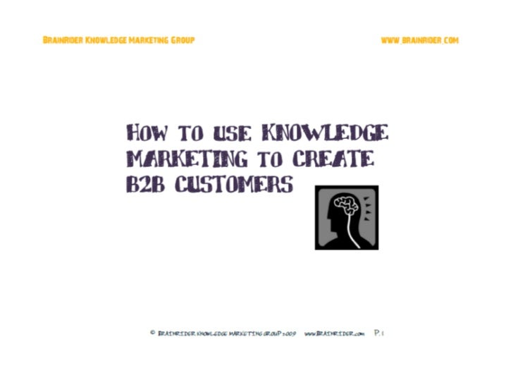 B2B Pipeline Marketing How To Get More Customers Presentation (12 slides) april 2010